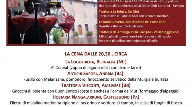Le Premiate Trattorie Italiane presentano i nuovi ingressi