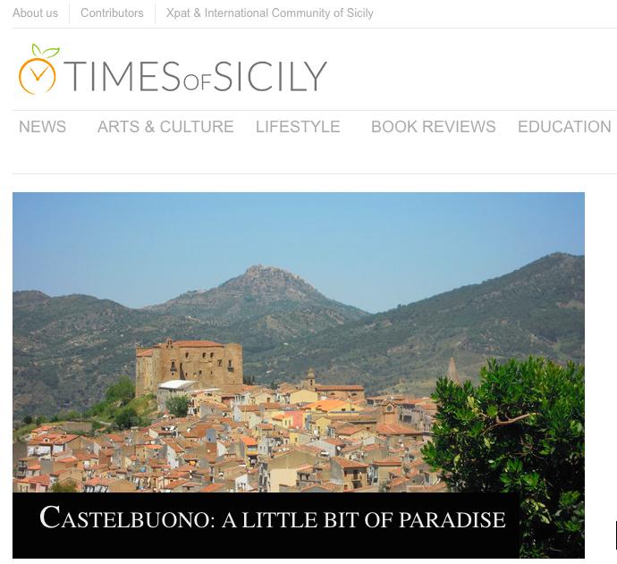Time of Sicily dedica un articolo a Castelbuono facendo tappa anche da noi
