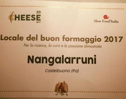 """Premiati al Cheese come """"Locale del buon formaggio""""!"""