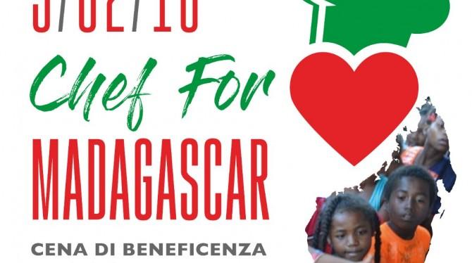 """Venerdì 9 febbraio """"CHEF FOR MADAGASCAR"""""""