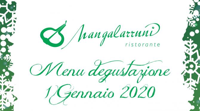 Menu del 1° Gennaio 2020